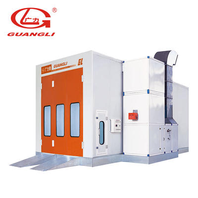 Professional Spray Booth for Mid-size bus Paint booth supplier GL8-CE