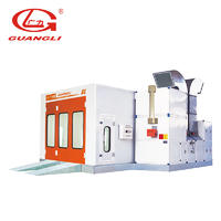 Paint booth for sale with spray booth filter GL4000-A1