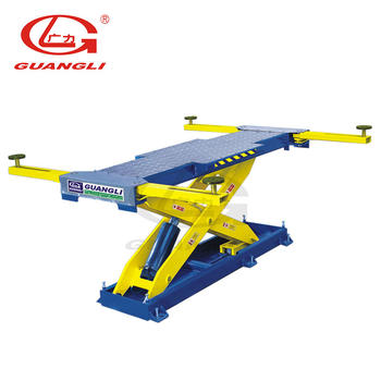 GL1001 Scissor lift for body repair and painting