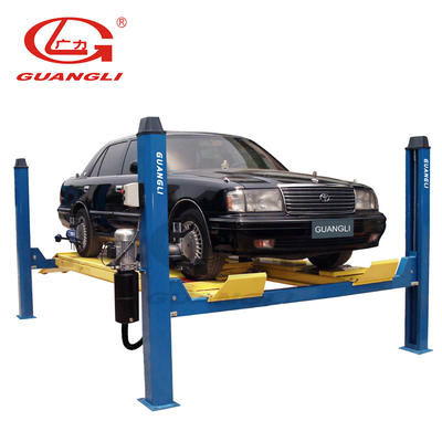 GL-3.5-4D1 Four-post Lift for Four-Wheel Alignment